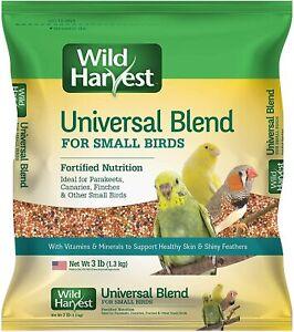 3Lb Small Bird Food-High Vitamin Seed Bird Food For Canaries, Parakeet, Finches