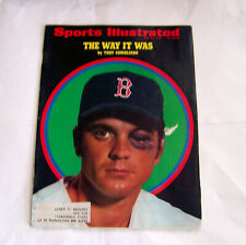 Boston Red Sox Tony Conigliaro HBP Sports Illustrated Magazine 06/22/70