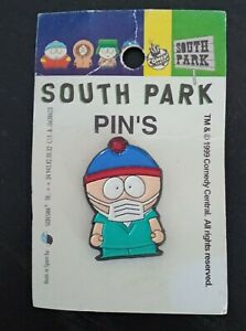 Enamel Pin South Park New Original 1999 Comedy Central   Face Mask