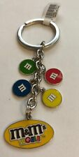 M&M's World Lentil Dangle Keychain New with Tag