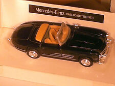MERCEDES 300 SL ROADSTER 1957 / NOIRE : NEW RAY 1/43
