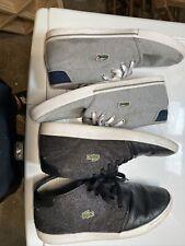 lacoste shoes men 11.5 (2 Pairs)