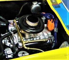 Corvette 1967 Vette Chevy Chevrolet Car with V8 Engine Motor and Vintage Wheels