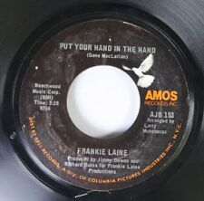 Pop 45 Frankie Laine - Put Your Hand In The Hand / Going To Newport On Amos