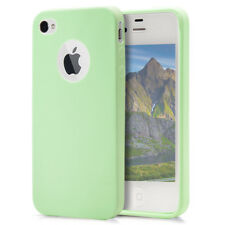 Phone Cover For iPhone 4 4s Mobile Soft Back Bumper Case Silicone TPU Thin Shell