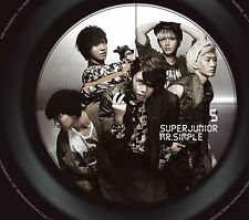 K-POP SUPER JUNIOR 5th Album [Mr.Simple] (Type B) Digipak CD + Booklet Sealed
