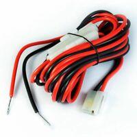 1X(DC Power Cable Cord for Mobile Radio YAESU ICOM Kenwood TK-760/768/8800