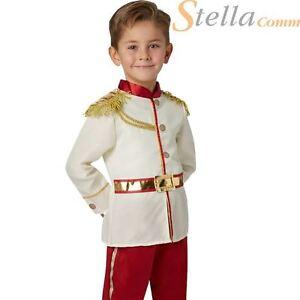 Prince Charming Boys Fancy Dress Disney Fairytale Book Day Child Kid Costume