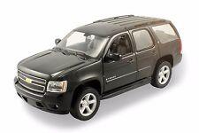 WELLY 1:24 W/B 2008 CHEVROLET TAHOE (STREET VERSION) Diecast Car Model Black