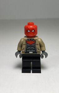 LEGO DC Batman Super Heroes Red Hood Minifigure 76055 Killer Croc 10753 as Robin