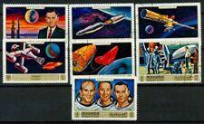 Manama 1972 SG Z37 Usato 100% Apollo 16, Mi. 746 752