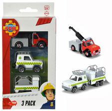 Dickie Feuerwehrmann Sam 3er Pack Phoenix, Geländewagen und Anhänger