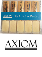 Axiom Alto Sax Reed 2.5 - Box of Ten Quality Saxophone Reeds