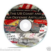 Coast Artillery Journal, Anti Aircraft Air Defense Trends 385 Issues Set DVD B68