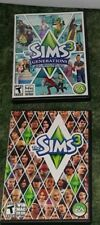 Lot Sims 3 Base Starter & Generations Expansion Pack PC/Mac