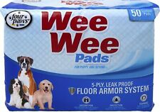 FOUR PAWS Wee Wee Pads For Puppies 50 PK