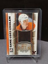 11-12 ITG Broad Street Boys Game Used Emblem/9 Brian Propp