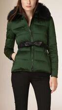 BURBERRY BRIT Redbourn Satin Short Puffer Jacket (RRP – $1395)