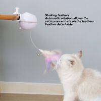 Teaser automatico USB Pet Cat con giocattoli regalo interattivi con campana di