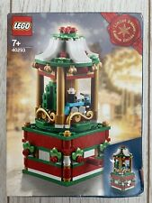 Lego 40293 Limited Edition Christmas Carousel Brand New