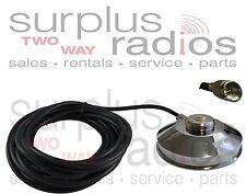 Motorola Magnet Mount NMO Antenna UHF VHF Mobile CM200 CM300 CDM750 CDM1250 M120