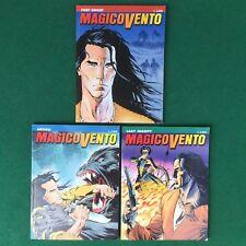 MAGICO VENTO 3 Fumetti n.1-2-3 Bonelli (1997) Lotto Blocco DA EDICOLA