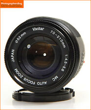 Vivitar 70-210mm MC F4.5-5.6 Autofocus Zoom Minolta Sony A Mount  + Free UK Post