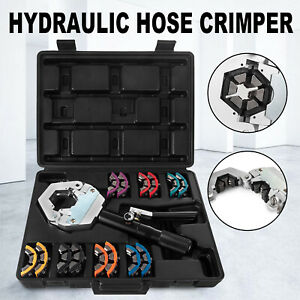 71500 A/C Hydraulic Hose Crimper Tool Kit Crimping Set Hose Fittings Hand Tool
