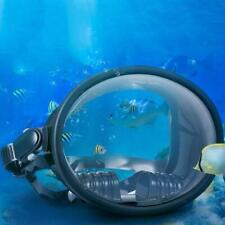 New listing Waterproof Womens Mens Dive Full Face Mask Free Scuba Diving Goggles Wide View