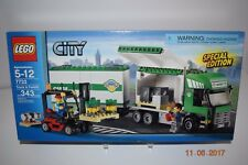 Lego 7733 ~ Truck and Forklift - Age 5+ ~ Sealed ~ Retired Scan Pictures ~ NEW