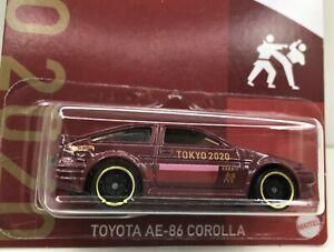 Hot Wheels ** Tokyo 2020 *Toyota  AE86 Corolla Sprinter * In Protector*** 1:64