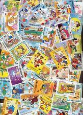 50 verschiedene Briefmarken Stamps Walt Disney Micky Mouse Donald Goofy