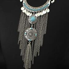 Bohemia Style Womens Vintage Collar Necklace with Geometrical Shapes Retail $99
