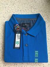 Marks and Spencer Mens Polo Shirt - XL Royal Blue x 2