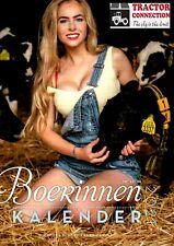 Boerinenkalender 2021 maandkalender en verjaardagskalender met sexy meiden