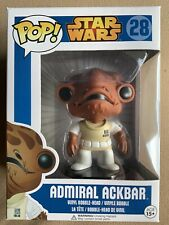 Funko POP Admiral Ackbar 28 Star Wars Blue Box Asia Release