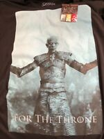 Game of thrones  The Night King  black XL tee shirt
