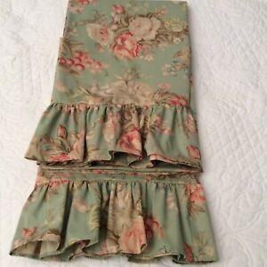 Ralph Lauren Charlotte Set (2) Standard Ruffled Pillowcases New