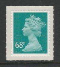 GB 2011 Machin Definitive SA 68p deep turquoise-green SG U2926 M11L MNH (sheet)