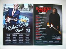 "ROBERT CRAY BAND ""Nothing but Love"" 2013 & 2015 UK Tours. Promo tour flyers x 2"