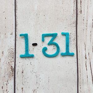 Felt Numbers 1 -31, Die Cut Numbers, Reward Calendar