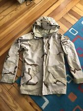 Us Army Issue Ecwcs Cold/Wet Weather Gore Tex Desert Parka Large Long C2