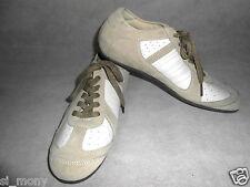 Zapatillas para hombre Zapatos Casual Beige Real Cuero ConMarvel  AlphaFlight1a130 Northstar   ,AlphaFlight/X-men1,2