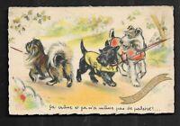 Carte  Postale  Signè  Germaine BOURET  SUPERBE  TRES  BON  ETAT  Dim  9 X 14 Cm