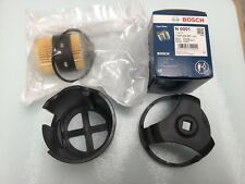 VAUXHALL OPEL CORSA ASTRA MERIVA 1.3DT 2003 ON BOSCH DIESEL FUEL FILTER AND TOOL