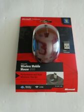 Microsoft Wireless Mobile Mouse 6000-Red For Windows & Mac (New Factory Sealed)