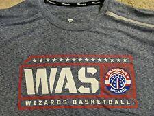 NWOT Fanatics 2019/20 Washington Wizards Hoops for Troops Long Sleeve Shirt 2XT