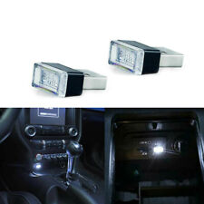 2Pcs Usb Plug-In Ambient Lighting Kit Car Interior White Miniature Led Universal(Fits: Neon)