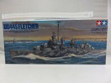 Tamiya US NAVY DESTROYER DD445 FLETCHER 1/350 Scale Plastic Model Kit UNBUILT