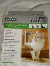Interior 2-Way Locking Cat Flap Door Home Entry 1-15lb sm Dog Exit Enter PetSafe